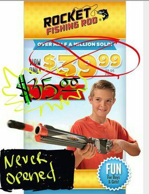Rocket fishing rod for Sale in Berwyn, IL
