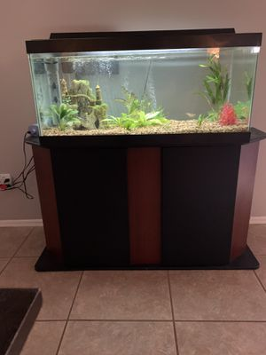 Fish Tank & Stand for Sale in Phoenix, AZ
