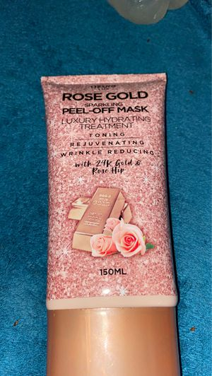 Rose gold face mask for Sale in Columbus, OH