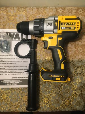 "DEWALT. 20V MAX XR Lithium-Ion 3-Speed 1/2"" Premium Brushless Hammer Drill (Tool-Only).DCD996B. for Sale in Brooklyn, NY"