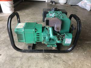 Coleman Powermate Electric Generator 120/240 volt 4000 watts for Sale in Albert Lea, MN