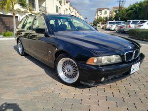 2001 BMW 525i station wagon 5 speed manual transmission for Sale in Anaheim, CA
