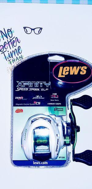 Lews Xfinity Speed Spool SLP baitcast Reel for Sale in Flower Mound, TX