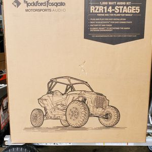 Rockford Fosgate Stage 5 For RZR Poalirs for Sale in Baldwin Park, CA