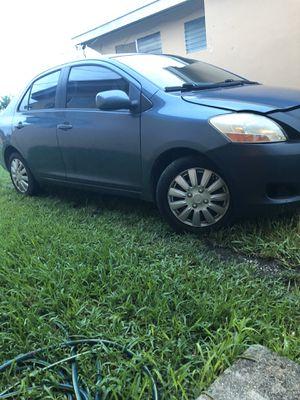 Toyota yaris 2008 bien cuidado. Cambio por troca Ford for Sale in Bartow, FL