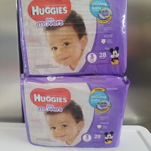 Huggies size 3 $6 Each Bag for Sale in Ontario, CA