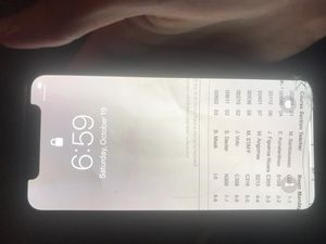 iPhone X 64Gb AT&T for Sale in Clifton, NJ