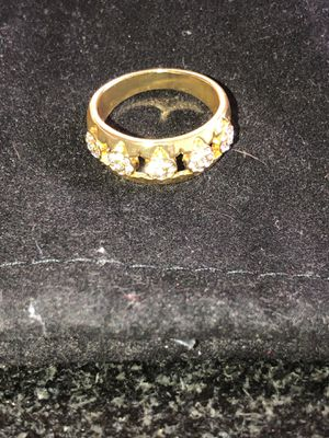 18Kt Gold Plated Men's Wedding Ring Sz 10 for Sale in Douglasville, GA
