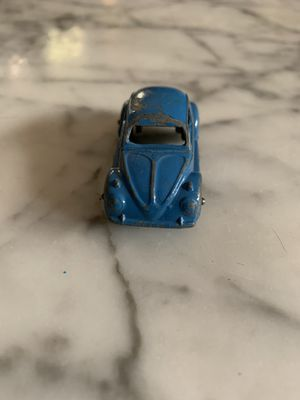 Vintage, Toy Car Classic Volkswagen Bug, Blue, Tootsietoy, Chicago USA for Sale in Modesto, CA