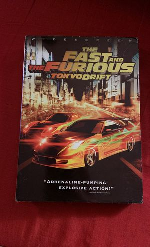 The Fast and the Furious /Tokyo Drift - DVD for Sale in Detroit, MI