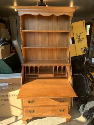 Secretary desk/bookshelf for Sale in Milwaukie, OR