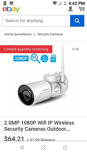 Wireless security cameras NEW for Sale in Modesto, CA