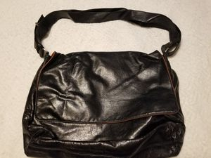 JOST Black Leather Unisex Crossbody Messenger Bag Briefcase Germany Brand new for Sale in Norfolk, VA
