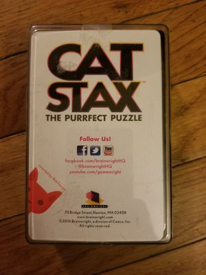 Cat Stax Puzzle for Sale in Parkersburg, WV