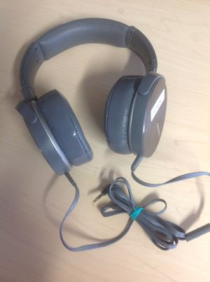 New Sony Extra Bass Headphones Headset w/microphone for Sale in Richardson, TX