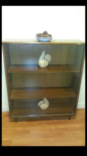 Wood cabinet for Sale in Rockville, MD