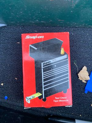 Snap on tool chest tape measure new in the box for Sale in La Mesa, CA