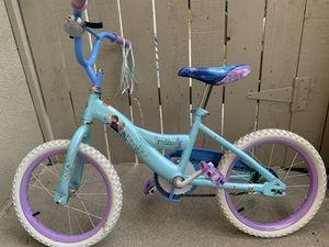 Girls Frozen Bike for Sale in Riverside, CA