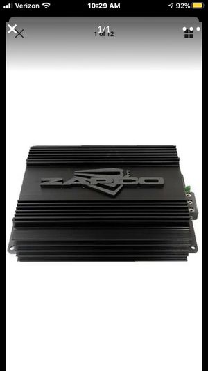 Zapco audiophile st 2 channel amp car audio speaker mid high bass amp. for Sale in Rancho Cucamonga, CA