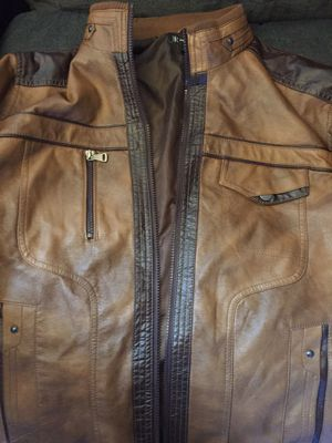 International Concept brown leather jacket for Sale in Hyattsville, MD