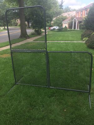 L Screen for batting practice for Sale in Rockville, MD