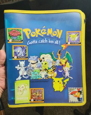 Vintage Pokemon Binder for Sale in Phoenix, AZ