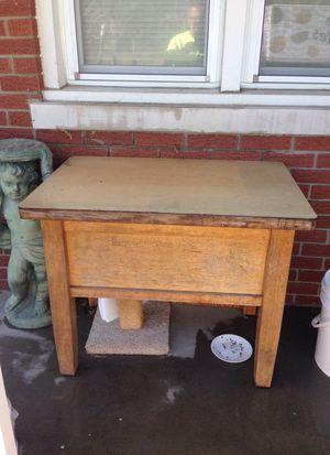 Old school desk for Sale in Evansville, IN