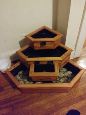 Indoor out door water fountain for Sale in Norfolk, VA