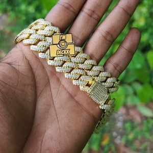 18inch AAA quality 🚨🚨🚨 14k gold plated Cuban link prong chain set 🚨🚨🚨 for Sale in Miami, FL