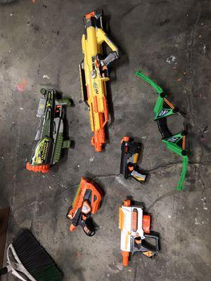 🚨📍Nerf guns. (5 piece lot) BADASS!!!📍🚨 for Sale in Redlands, CA