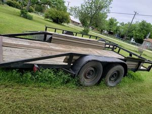Double axle utility trailer 16 ft for Sale in Dallas, TX