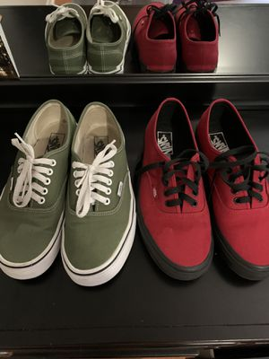 Vans ( size 9 ) for Sale in Miami, FL