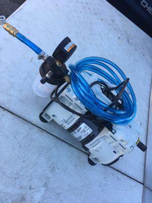 Piston Air Compressor/Vacuum Pump WELCH 1/3 HP Piston Vacuum Pump, for Sale in Modesto, CA