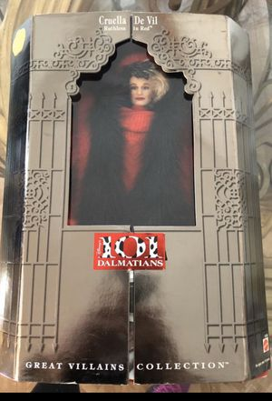 101 Dalmatians collection doll for Sale in South El Monte, CA