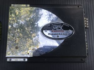 MTX Audio Thunder 6304 Subwoofer/ Speakers Ampq for Sale in Portland, OR