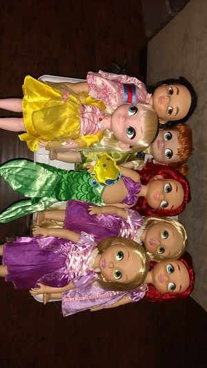 Disney Animators Collection Princess Dolls Bundle $30 For All for Sale in Costa Mesa, CA