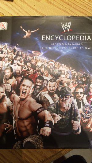 WWE Encyclopedia for Sale in Northfield, OH