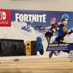 Nintendo Switch Fortnite Wildcat V-Bucks Bundle for Sale in Fort Lauderdale, FL