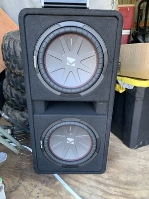 """2 Kicker CompR 12"""" for Sale in Columbia, LA"""