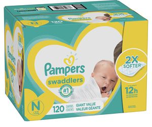 Pampers Newborn diapers for Sale in Moreno Valley, CA