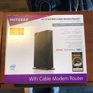 NetGear AC1750 Wi-Fi Cable Modem Router for Sale in Chula Vista, CA