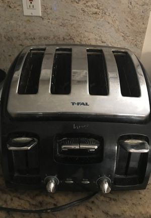 Used, T-Fal toaster, 4 slices for Sale for sale  Santa Monica, CA