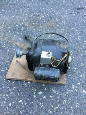Electric motor with Pulley for Sale in Concord, MA