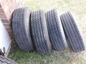 8x16.5 10 ply Trailer tires like new for Sale in Oakland Park, FL