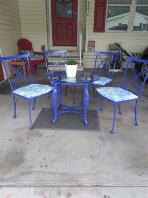 Wrought iron table & chairs for Sale in Riverview, FL