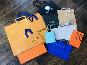 Shopping bags, Louis Vuitton, Hermès (etc.) for Sale in San Diego, CA