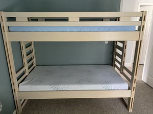 Bunk bed + one mattress for Sale in Boiling Springs, SC