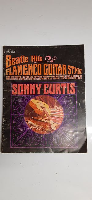Beatles Hits 1965 Flamenco Guitar Style Sheet Music Gil Music Corp NY for Sale in Menifee, CA