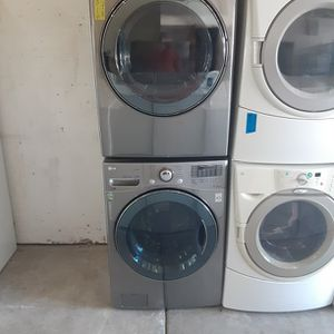 Lg Front load Washer And Electric Dryer Sets for Sale in Modesto, CA