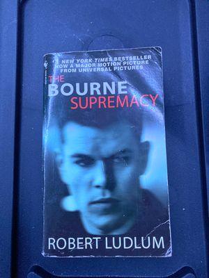The Borne Supremacy book for Sale in Oakley, CA